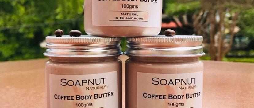Natural Coffee body butter Mysore