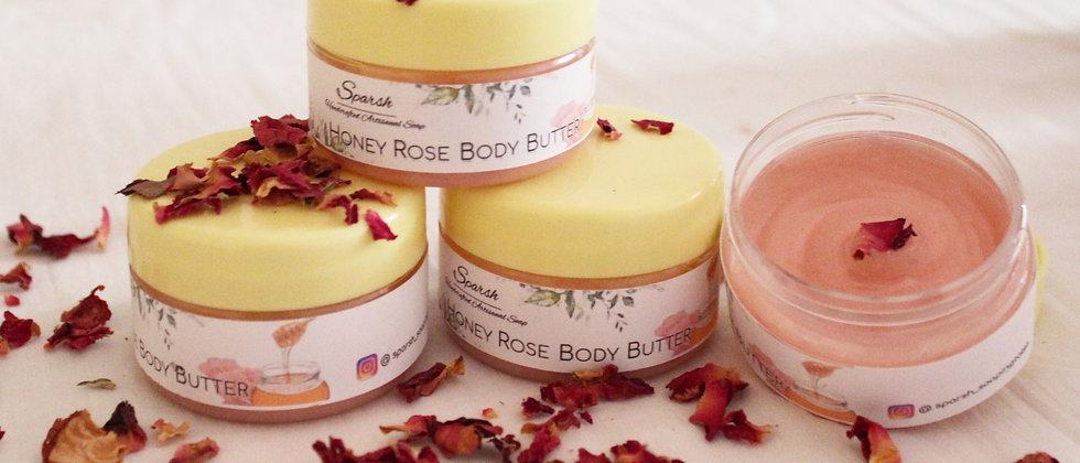 Natural Honey Rose Body Butter Mysore