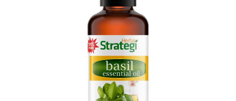 Herbal Essential Oil - Basil (15 ml)