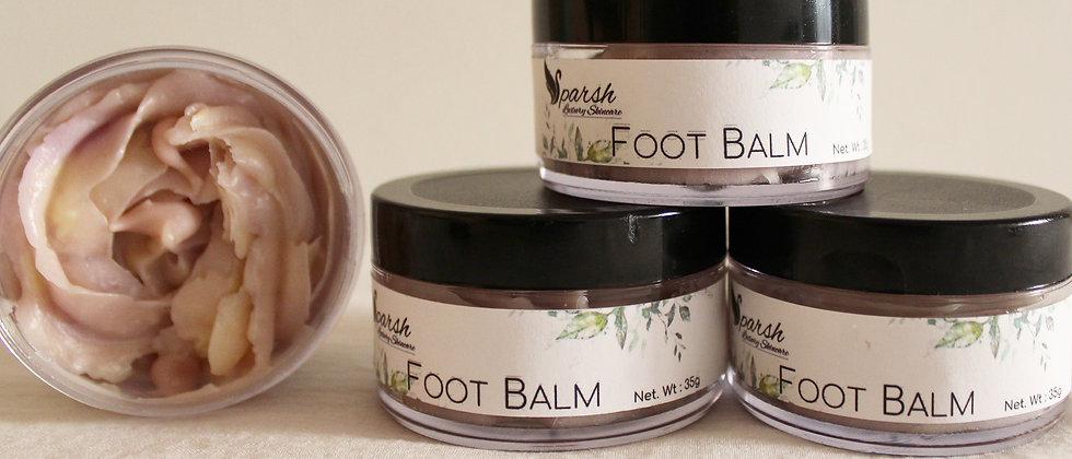 Natural Foot Balm