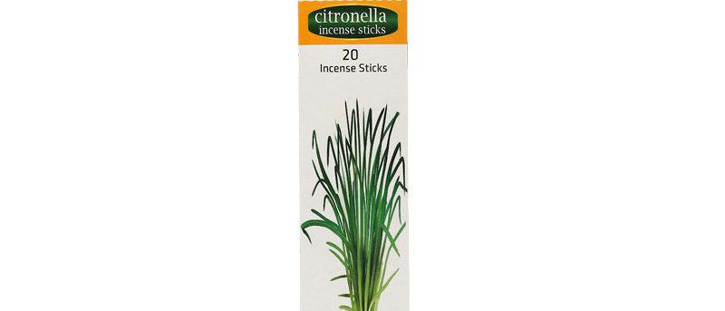 Herbal Aromatic Incense Sticks - CITRONELLA