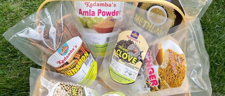 Organic Spices Hamper