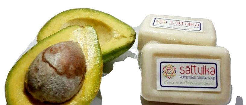 Goat milk, Coconut Milk & Avocado Soap (75 gms)