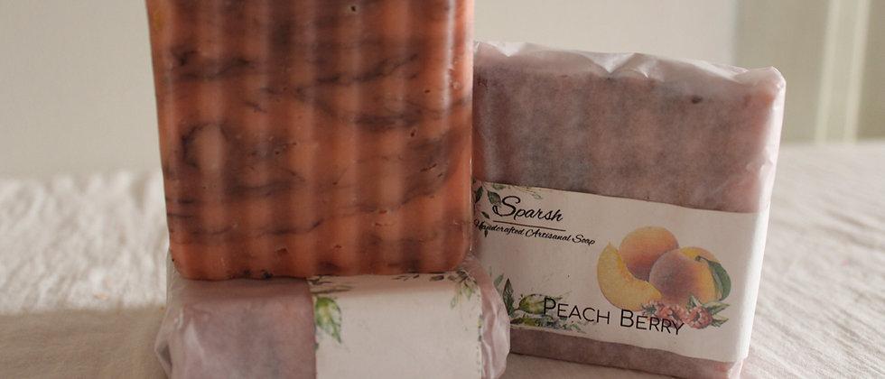 Peach Raspberry Soap