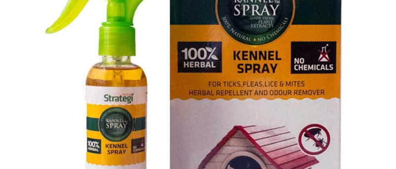 Herbal Kennel Spray for Ticks,Fleas,Lice and Mites