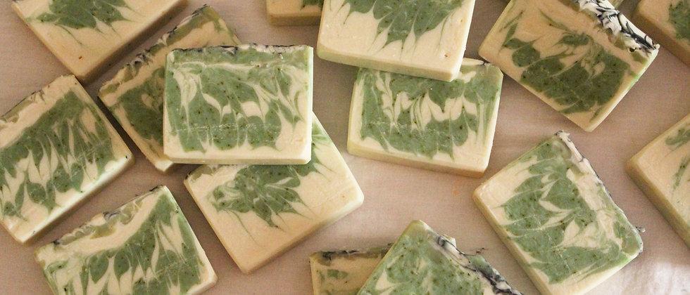 Natural Handmade Aloe Vera and Cucumber Soap Mysore