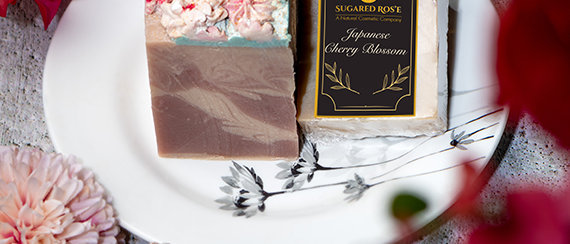 Handmade Japanese Cherry Bloosm Body Soap Mysore - Organic Online store Simple Soul -Same day delivery