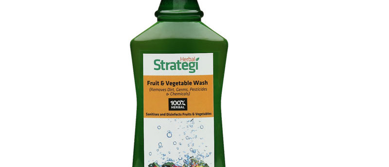 Herbal Disinfecting Liquid for Fruits and Vegetables