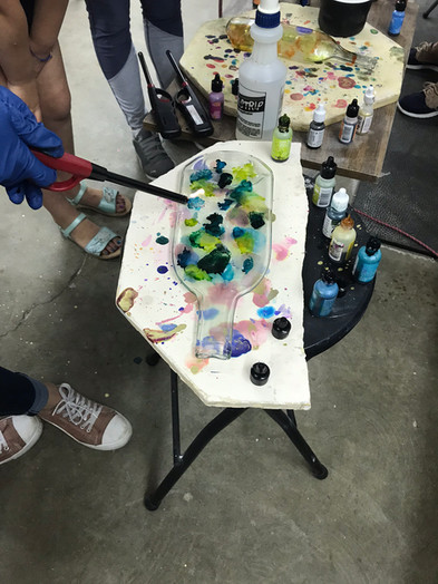 Alcohol Ink Bottle Class