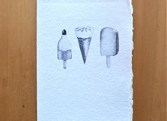 A6 CARD 3 ICE CREAM