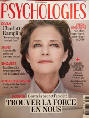 Psychologies magazine L'académie au Féminin