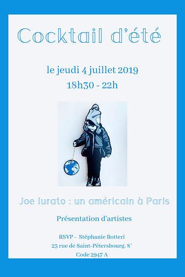 Cocktail d'été 2019 - Vente privée d'art contemporain - Caillebotteri