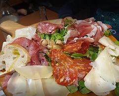 Charcuterie - Antipasti - Notre carte de restaurant - L'ulivàia Pizzeria