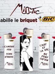 Briquets Bic Special Miss Tic