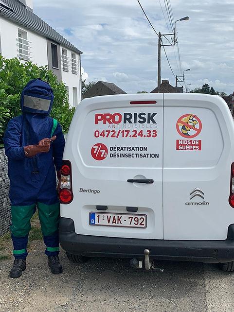 Pro Risk anti nuisibles deratisation desinsectisation