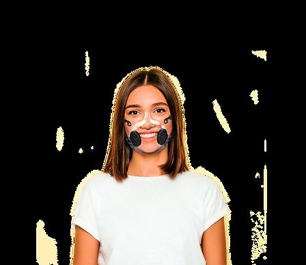 Masque de protection transparent - iD masque