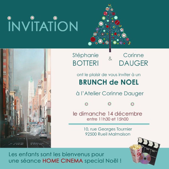 Brunch de Noël 2014 - Vente privée d'art contemporain - Caillebotteri