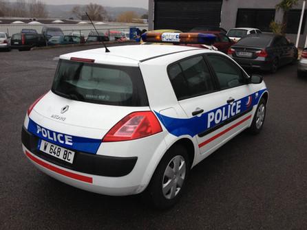 RENAULT Megane Police arrière-profil D