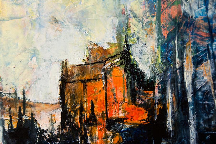 Peintre art abstrait Tarn et Garonne (82) Finhan, Françoise Dugourd-Caput, artiste peintre art contemporain en Occitanie. Peinture huile sur toile, aquarelle et art numérique en Tarn et Garonne, Finhan ( 82 ), Occitanie