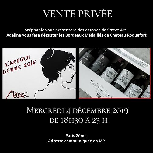 Vente Privée 2019 - Vente privée d'art contemporain - Caillebotteri