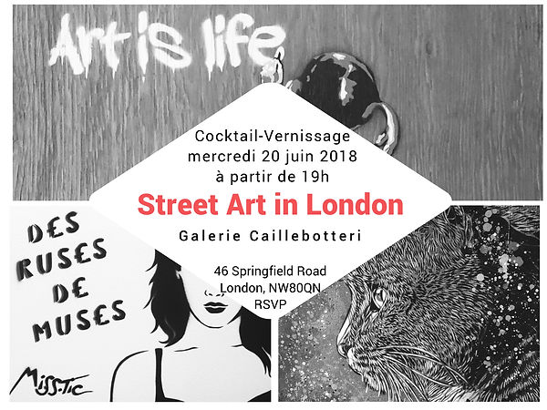 Street Art in London Vernissage 2018 - Vente privée d'art contemporain - Caillebotteri