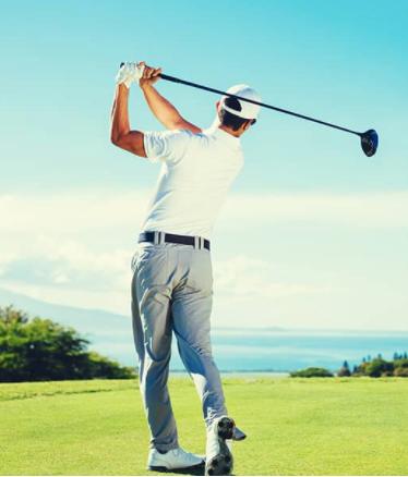 se muscler le dos pour mieux jouer au golf