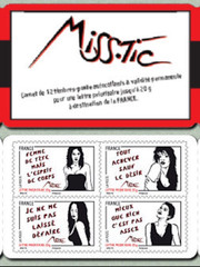 Timbres postaux Special Miss Tic