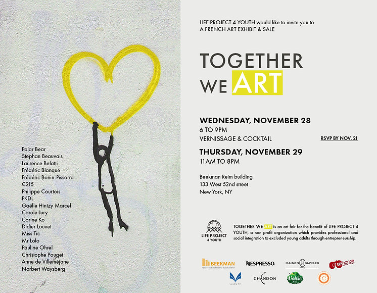 Together We Art 2018 - Vente privée d'art contemporain - Caillebotteri