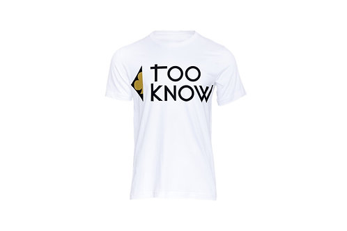 TooKnow Logo T-Shirt (with gold)