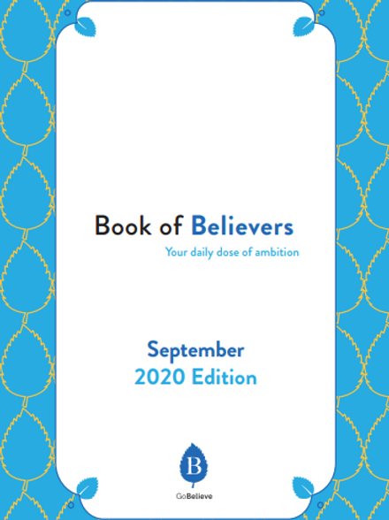 Book Of Believers (September Edition)