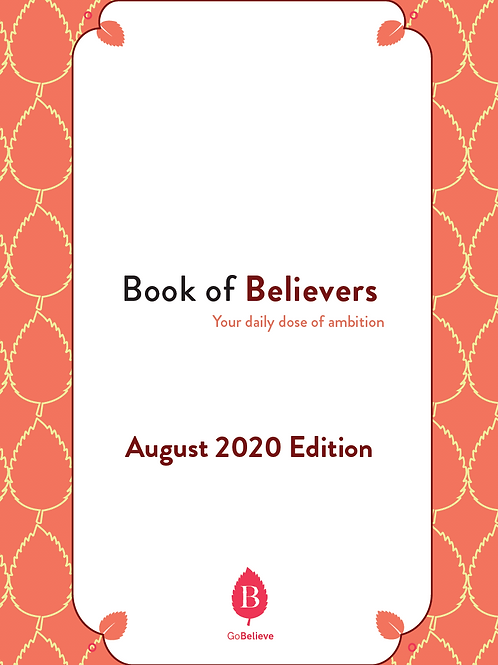 Book of Believers (August Edition)