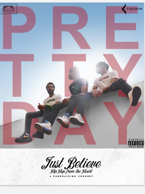 """Just Believe Signed Poster- """"Pretty Day"""" -8""""x10"""""""