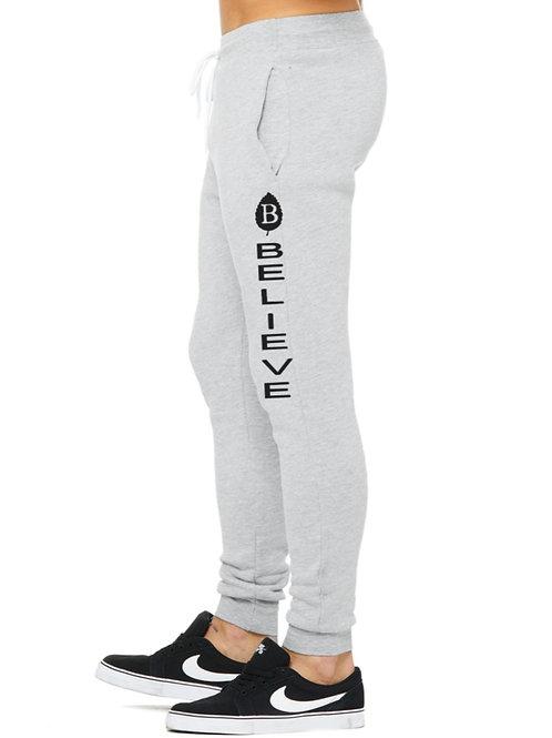 Vertical Believe Logo Sweatpants