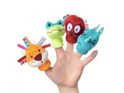 Marionnettes de doigt jungle - Lilliputiens