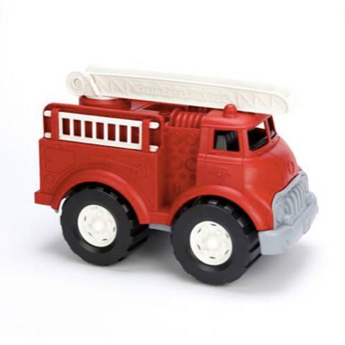 Camion de Pompier Rouge - Dès 1 an