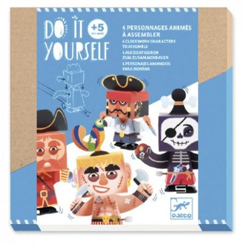 Personnages animés à l'abordage - Do it Yourself Djeco