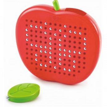 Pomme magnétique pour dessiner