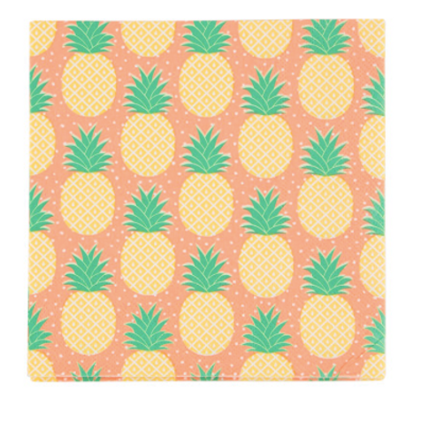 20 Serviette papier ananas