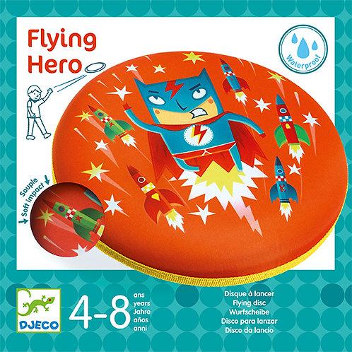 Disque à lancer Flying Hero - Djeco