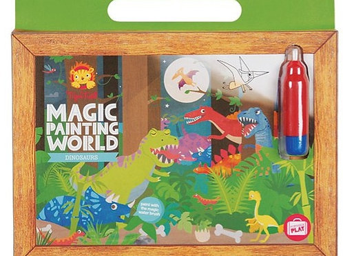 Magic painting world dinosaures