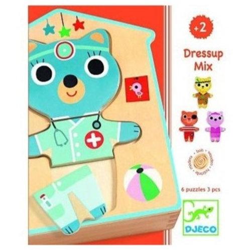 Puzzles dressup mix - Djeco