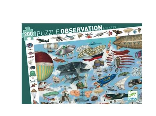Puzzle d'observation aéro club 200 pièces