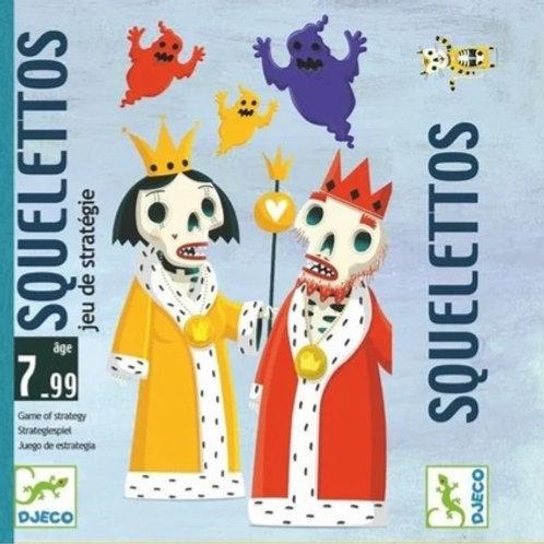 Jeu de carte Squelettos - Djeco