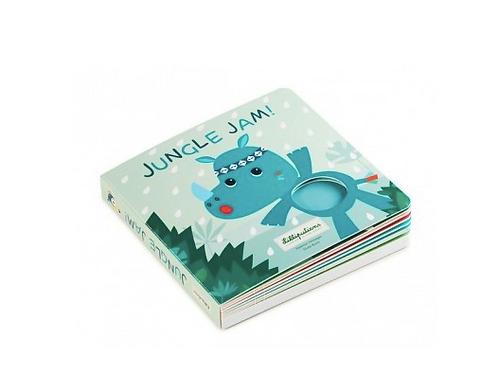 Jungle Jam livre tactile et sonore - Lilliputiens