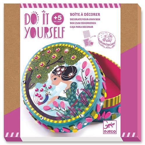 Boite à décorer petits secrets - Do it Yourself Djeco