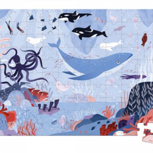 Puzzle Océan arctique valisette 100 pièces