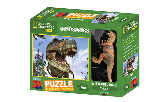 PuzzleT-REX  - 100pcs - National Geographic