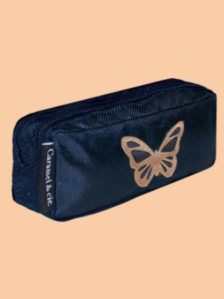 Trousse Double Papillon Bleu Caramel & Cie