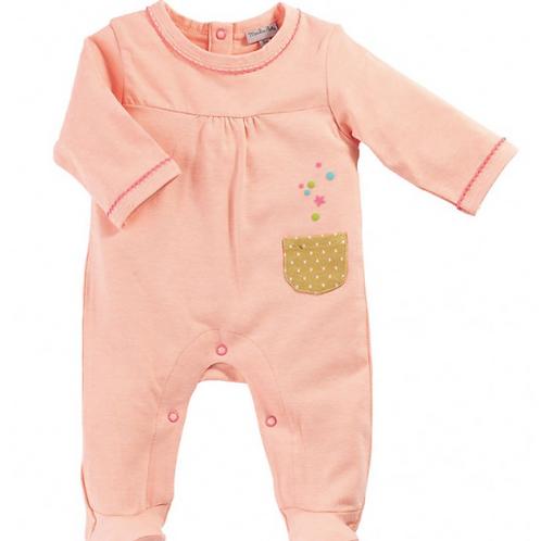 pyjama jersey rose moulin roty