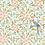 Thumbnail: Lé de Papier peint Romance (280 cm) - Rose, bleu, vert